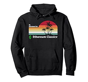 My Retirement Plan ETC Shirt Retro Ethereum Classic Coin Pullover Hoodie