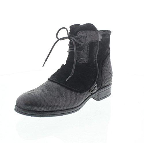 MARTINA BURARO, Damen Stiefel & Stiefeletten , schwarz - schwarz - Größe: 37 EU