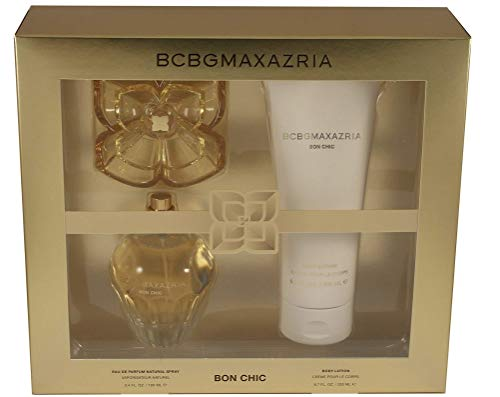 BCBGMAXAZRIA Bon Chic 3.4 Ounce Eau de Parfum Perfume Set for Women with 6.7 Ounce Body Lotion