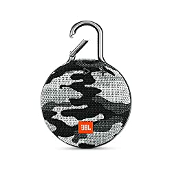 Ready to go, where you go: incomparable to other speakers, JBL Clip 3 is extremely portable, so you can just clip and go / Signature JBL Sound with an ultra-rugged waterproof exterior Keeps going all day or night! Rechargeable battery lasts up to 10H...