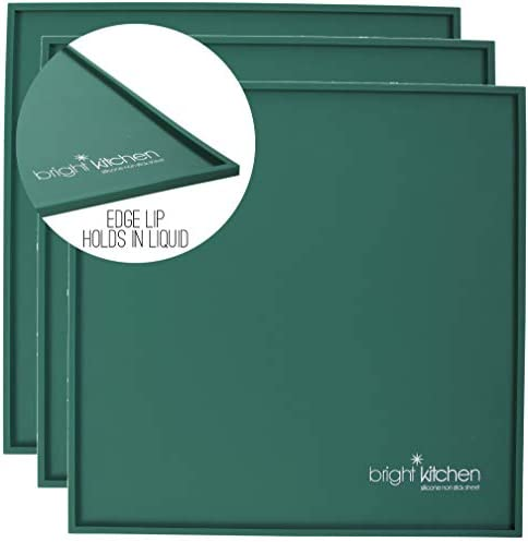 Set of 3 14 x 14 Silicone Sheets for Excalibur Dehydrator Bright Kitchen Re Usable Non Stick product image