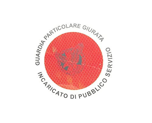 Adhesivo 3M para paleta roja G.P.G. I.P.S. Guardia especial jurada encargada de público servicio GPGIPS Art. R00129