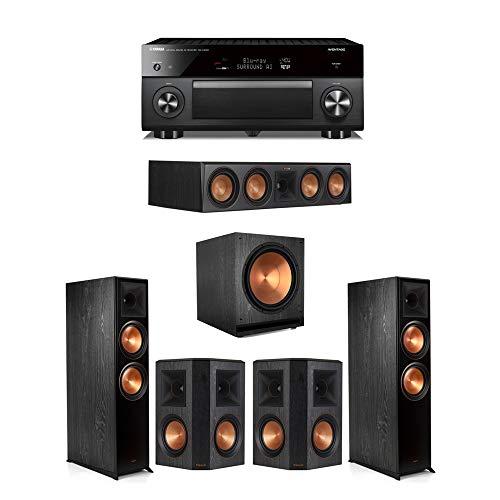 Best Price Klipsch5.1.2 Ebony System - 2 RP-8060FA,1 RP-504C,2 RP-600M,1 SPL-150,1 RX-A3080 Receiv...