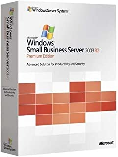 Windows Small Business Server Premium 2003 R2 Transition Pack, 5 Clt