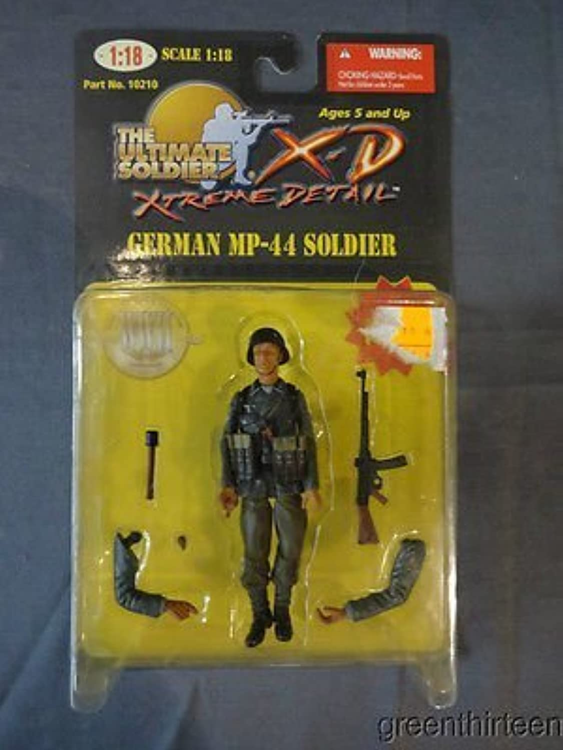 The Ultimate Soldier German MP44 Soldier Scale 1 18