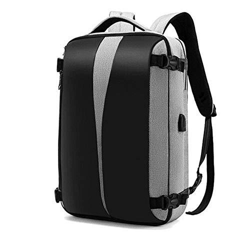 LQ Anti-diefstal rugzak 17-inch laptop Bagpack vrouwen mannen zakken anti-diefstal back Pack USB-oplader mannelijk zwart reizen waterdicht