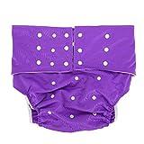 Waschbar Erwachsene Windel, Wiederverwendbare Windelhosen gegen Inkontinenz für Erwachsene, Dual Opening Pocket verstellbar leakfree, für ältere Menschen und behinderte Pflege(#4)