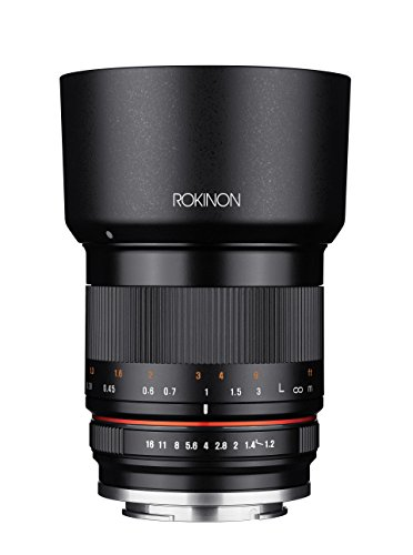 Rokinon 35mm F1.2 High Speed Wide Angle Lens for Sony E-Mount - Black - Sony E