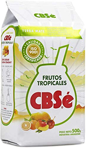 Yerba mate CbSe Frutos Tropicales 500g