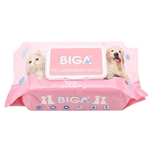 BIGA Deodorizing Hypoallergenic Pet Wipes