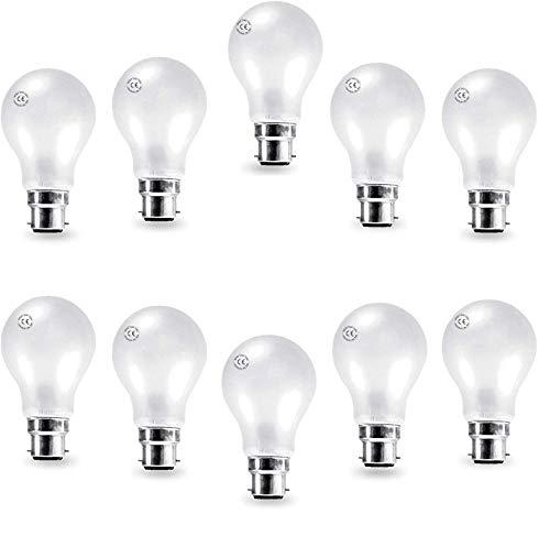 Preisvergleich Produktbild AcornSolution 10 xGlühbirnen birnenförmig A55 40W B22 gefrostete Glühlampen Glühlampen warmweiß dimmbar (40 Watt)