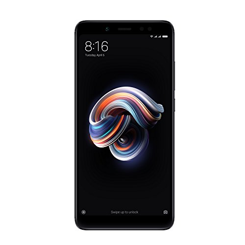 Xiaomi Redmi Note 5 Smartphone 5,99 Zoll (Snapdragon Octa-Core 636, 32 GB interner Speicher, 3 GB RAM, 13 MP Kamera, Android), Schwarz