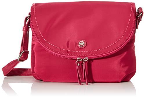 TOM TAILOR Umhängetasche Damen, Pink, Venezia, 27,5x6x19 cm, Handtasche, Schultertasche