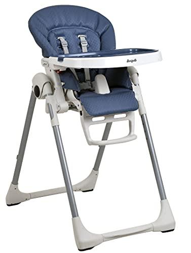 Cadeira de Refeição Burigotto Prima Pappa Zero 3 Indigo Azul