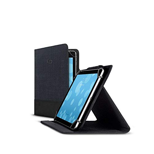 Solo Velocity Universal Tablet Case with Camera, Navy