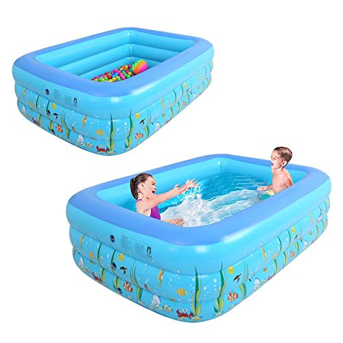 Funarrow Inflatable Kiddie Printing Rectangle Swimming Pool Product Image