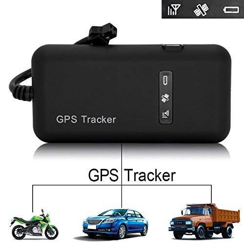 MUXAN GPS-Tracker Tracker Echtzeitfahrzeug für Auto, Motorrad, Fahrräder, GPS, GSM, GPRS, SMS, Diebstahlsicherung GT02A