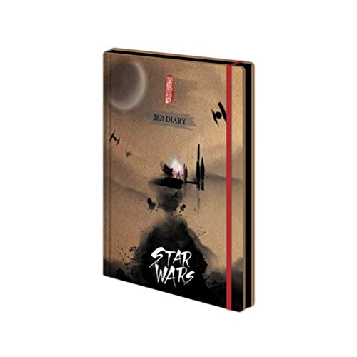 Star Wars Kalenderbuch 2021 Unisex Kalenderbuch multicolor Papier Fan-Merch, Film
