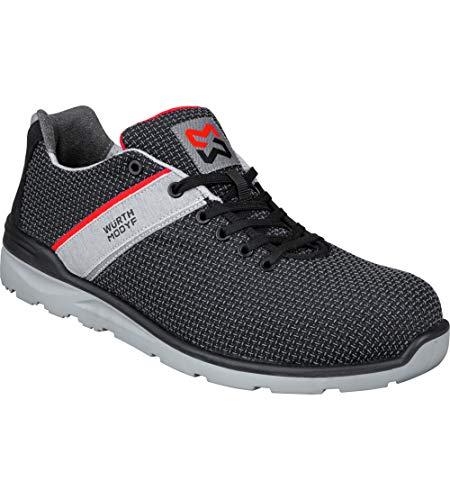 WÜRTH MODYF - Zapatos de seguridad S3 Cetus negro/gris
