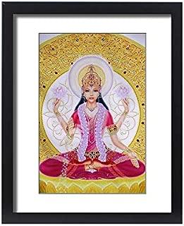 robertharding Framed 20x16 Print of Picture of Lakshmi, Goddess of Wealth and Consort of Lord Vishnu (6226512)