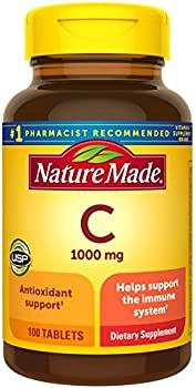 100 Count Nature Made Vitamin C Tablet, 1000 mg