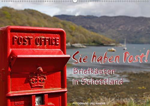 Sie haben Post - Briefkästen in Schottland (Wandkalender 2021 DIN A2 quer)