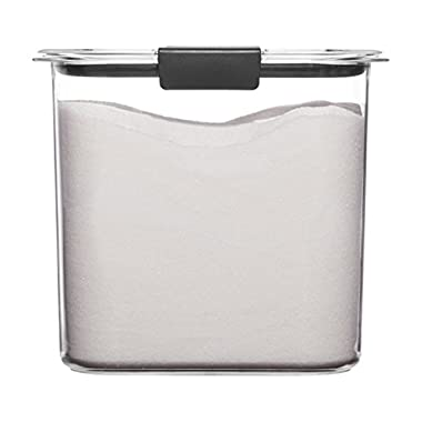 Rubbermaid Brilliance Pantry Airtight Food Storage Container, BPA-Free Plastic, 12 Cup