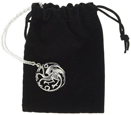 Game of Thrones Halskette und Anhänger Targaryen (Sterling Silver)