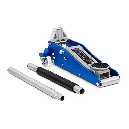 MSW Cric Auto Idraulico A Carrello Sollevatore Veicoli Martinetto Professionale MSW-TJ1500 (1.500 kg, Da 90 a 358 mm)