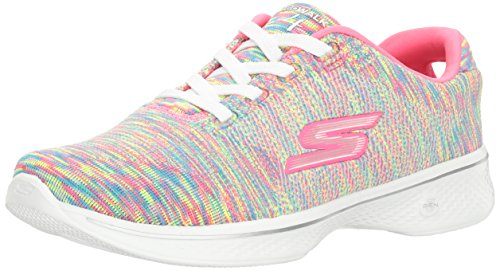 Skechers Performance Women's Go 4-14178 Walking Shoe, Multi, 7 M US