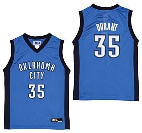 Outerstuff NBA Oklahoma City Thunder Kevin Durant Boys Replica Jersey - X-Small (5-6)