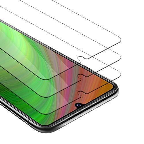 Cadorabo 3X Película Protectora Compatible con Honor 9A en Transparencia ELEVADA - Paquete de 3 Vidrio Templado (Tempered) Cristal Antibalas Compatible 3D con Dureza 9H