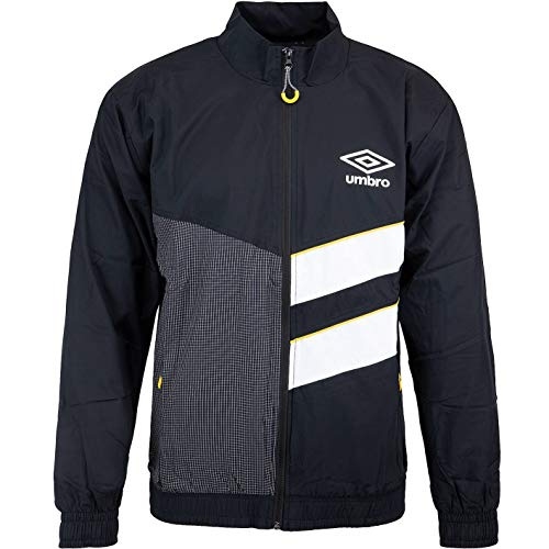 Umbro Diamond Cut Trackjacket Jacke (S, Black/White)