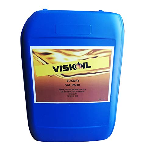 Viskoil Latta 20 Litri Olio Auto 5w30 per Motore Diesel Benzina ACEA A3/B4 C2 C3