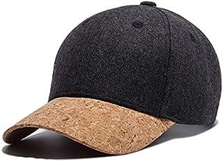 TOOGOO New Autumn Cork Fashion Simple Men Women Hat Hats Baseball Cap Hip Hop Simple Classic Caps Winter Warm Hat Black