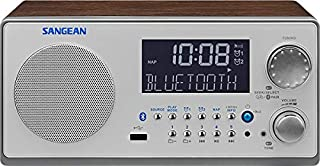 "Sangean WR-22 - Radio (Clock, Analógico, AM, FM, 7 W, 76.2 mm (3 ""), LCD), color nuez (importado) (B00919MOPK)   Amazon price tracker / tracking, Amazon price history charts, Amazon price watches, Amazon price drop alerts"