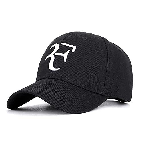 Gorra de beisbol Estrella De Tenis Roger Federer Gorra Bordado 3d Papá Gorras De Béisbol Unisex Sombrero Snapback Movimiento Sombreros De Tenis