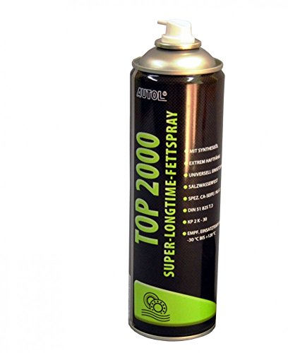 AUTOL Top 2000 Fettspray 500 ml. Fett Sprühfett 500 ml.