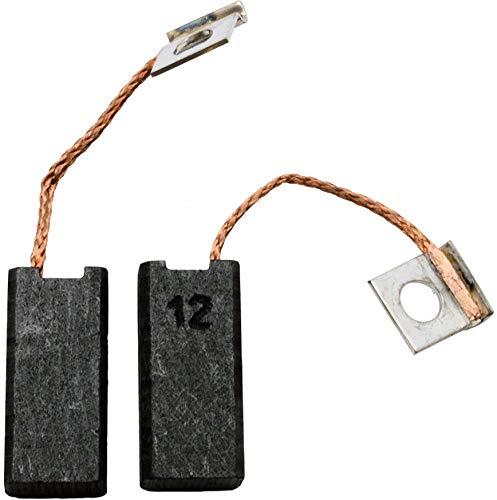 Kohlebürsten für BOSCH GRW 9 Rührwerk -- 6,3x10x21,5mm -- 2.4x3.9x8.3'' -- Mit automatische Abschaltung