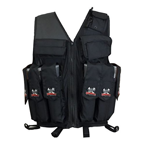 Maddog Tactical Paintball Attack Vest - Black