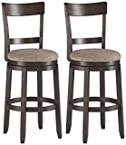 Signature Design by Ashley Drewing Bar Height Bar Stool, Brown