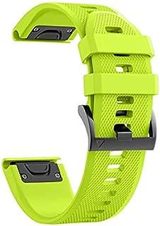 سوار ساعة اليد غارمن فينكس 3/Fenix 3 HR/Fenix 5X/Fenix 5X Plus، سوار بديل لساعة اليد الذكية Descent Mk1/Quatix 3/D2 C...
