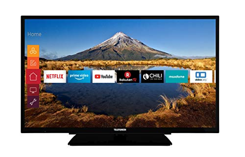 Telefunken XF32G511 80 cm (32 Zoll) Fernseher (Full HD, Triple Tuner, Smart TV, Prime Video)