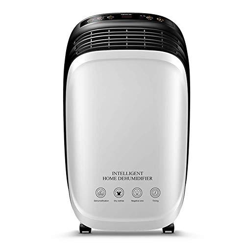 JINHH Potenza Deumidificatore, con 1.8L capacità del Serbatoio Aria Essiccatore può Deumidifica Filtro Dispositivi di Raffreddamento Asciugatura Macchina del Condizionatore d'Aria Essiccante Fan