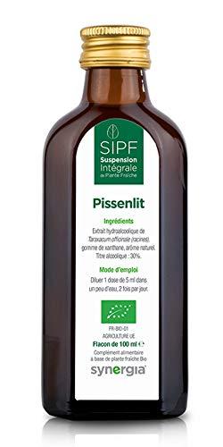 Pissenlit Bio Français Solution Buvable DE Plantes Fraîches - Diurétique - Origine France Certifiée Certifié AB