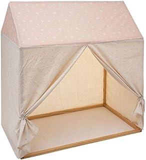 Paris Prix Atmosphera for Kids - Toile pour Lit Cabane Enfant Hut 116x126cm Rose