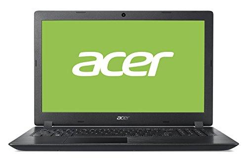 """Acer Aspire 3   A315-51-38LS - Ordenador portátil 15.6"""" HD LED (Intel Core i3-7020U, 4 GB de RAM, 128 GB SSD, Intel Graphics, Windows 10 Home) Negro - Teclado QWERTY Español"""