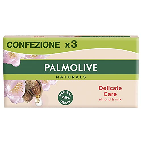 Palmolive Naturals Jabón, 3 Unidades