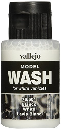 Acrylicos Vallejo 35 ml White Wash Modellwaschfarbe
