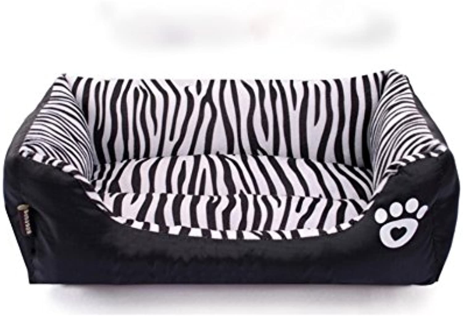 Fall winter fashion Zebra thermal pet Kennel sofa cushions ,685516cm
